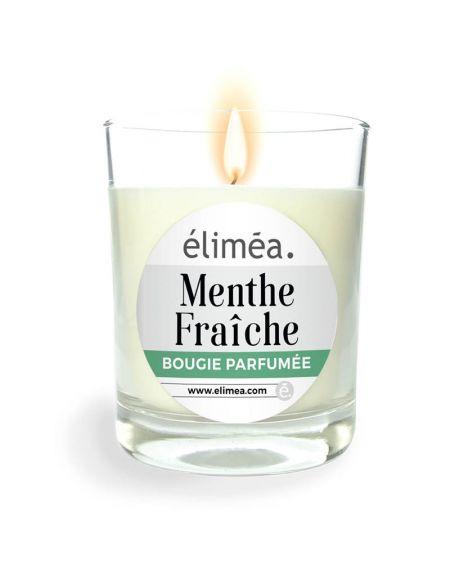 Bougie Parfumée Menthe Fraîche